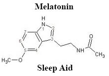 melatonin molicule, sleep, and your health