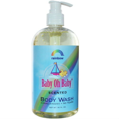 RAINBOW RESEARCH: Baby Body Wash Scented 8 OZ