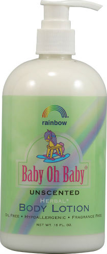RAINBOW RESEARCH: Baby Lotion Unscented 16 OZ
