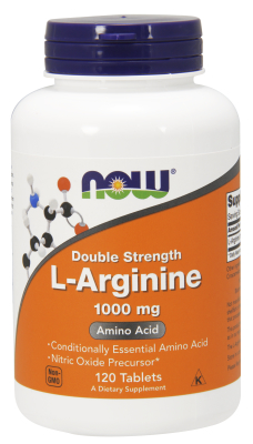 NOW: ARGININE 1000mg 120 TABS 120 TABS