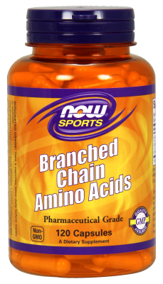 NOW: BRANCH CHAIN AMINO Acids BCAA 120 CAPS