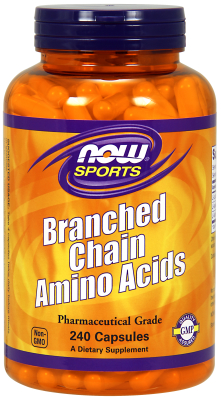 Branched Chain Amino Acids (BCAA) 800mg, 240 Caps