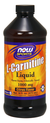 NOW: CARNITINE LIQUID 2X 16 OZ 16 OZ