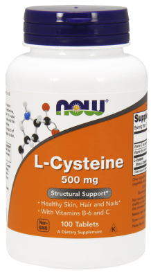 NOW: CYSTEINE (L) 500mg 100 TABS 100 tabs