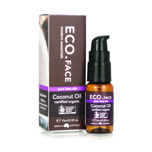 ECO MODERN ESSENTIALS: ECO  Certified Organic Coconut Face Oil 0.5 oz