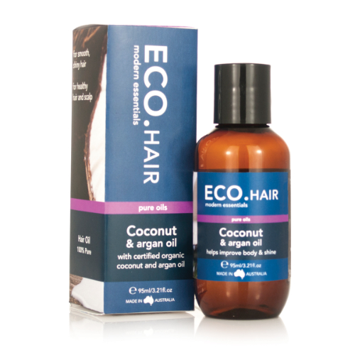 ECO  Coconut & Argan Hair Oil