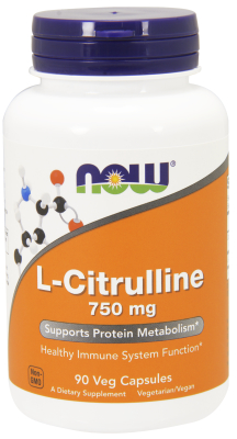 CITRULLINE 750MG, 90 CAPS