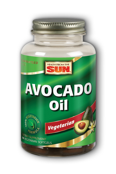 Avocado Oil 1000 mg, 60 ct Vegan Softgel