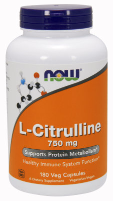 L-Citrulline 750mg, 180 Caps