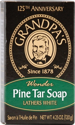 Pine Tar Soap Bath Size