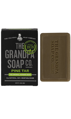 Pine Tar Soap Travel