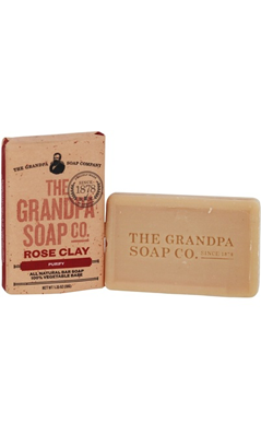 Grandpa's Rose Clay Soap