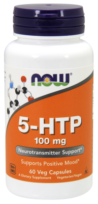 NOW: 5-HTP 100mg60 VCAPS 60 vcaps