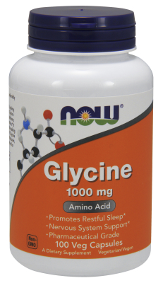 Glycine 1000mg, 100 Caps