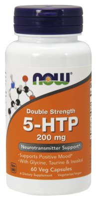 NOW: 5-HTP 200mg Plus TYROSINE   60 VCAPS 60 vcaps