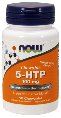 NOW: 5-HTP 100mg Lozenge 90 Lozenges
