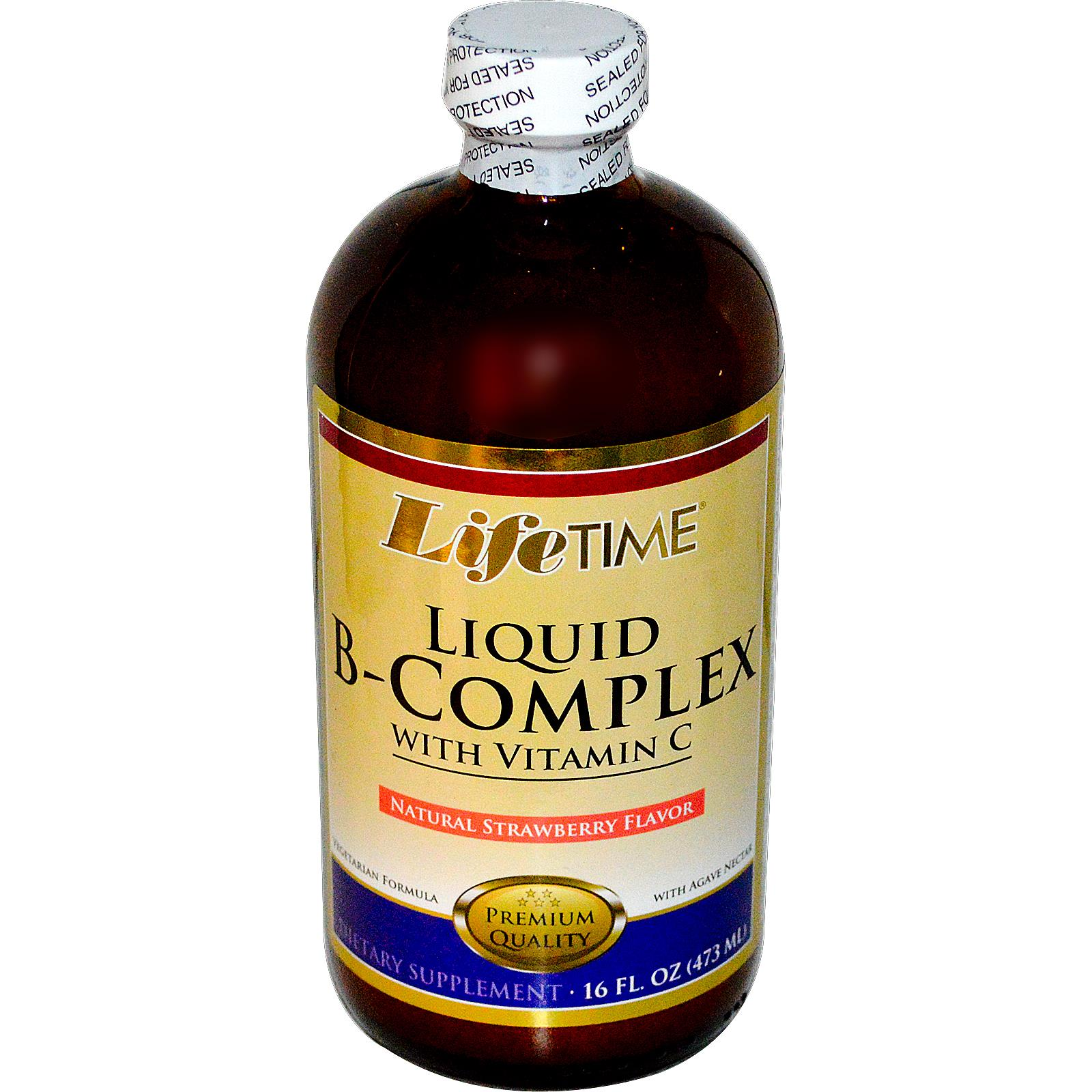 CALIFORNIA NATURAL VITAMINS: B Complex Liquid 1 oz