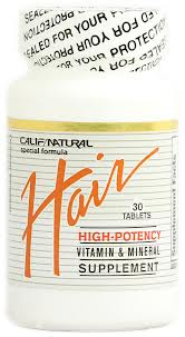CALIFORNIA NATURAL VITAMINS: Hair Vitamins 30 Tablets