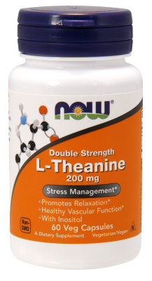 THEANINE 200MG 60 Vcaps from NOW