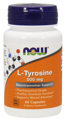 TYROSINE 500mg 60 CAPS, 1