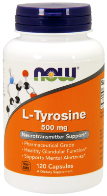 TYROSINE 500mg 120 CAPS, 1