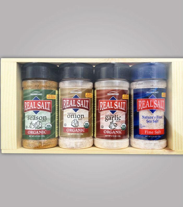 REDMOND TRADING COMPANY: Organic Seasoning Gift Box 4 oz
