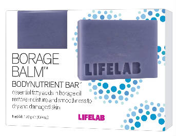 LIFELAB: Borage Balm Bodynutrient Bar 6 ounce