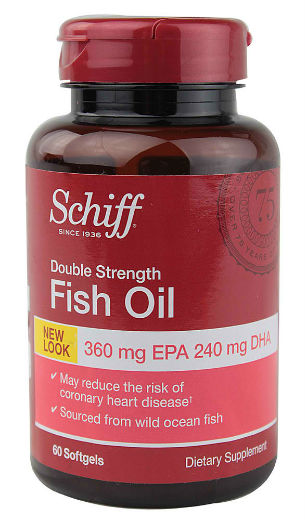 Double Strength Fish Oil, 60 softgels