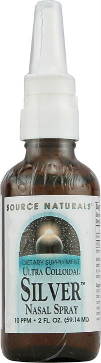 Source naturals: Ultra colloidal silver nasal spray 10 ppm 2 fl oz
