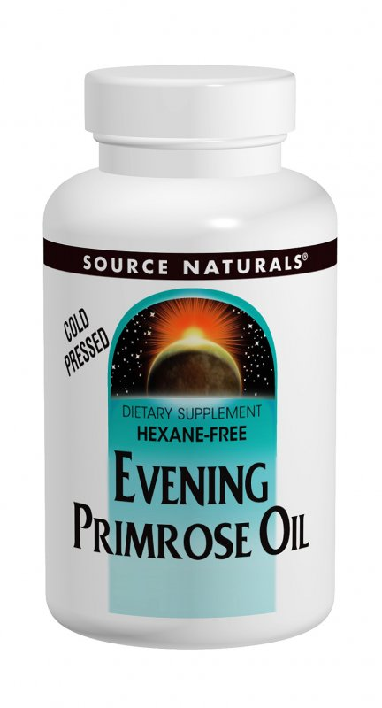 SOURCE NATURALS: Evening Primrose Oil 1350 mg 120 SG