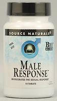 SOURCE NATURALS: Male Response Trial 10 Tablets
