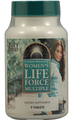 SOURCE NATURALS: Women's Life Force? With Iron 9t Trial 9 TAB
