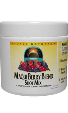 Source Naturals: Maqui Berry Blend Shot Mix 100 grams
