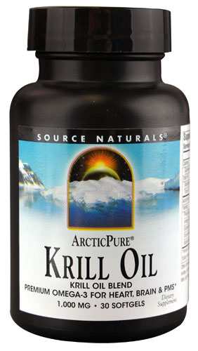 SOURCE NATURALS: ArcticPure Krill Oil 1000mg 30 softgel