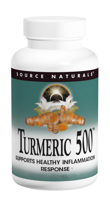 Turmeric 500 mg With Black Pepper, 60 tablet