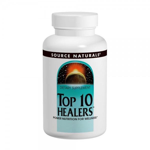 Source Naturals: Top 10 Healers (Power Nutrition For Wellness) 120 Tabs