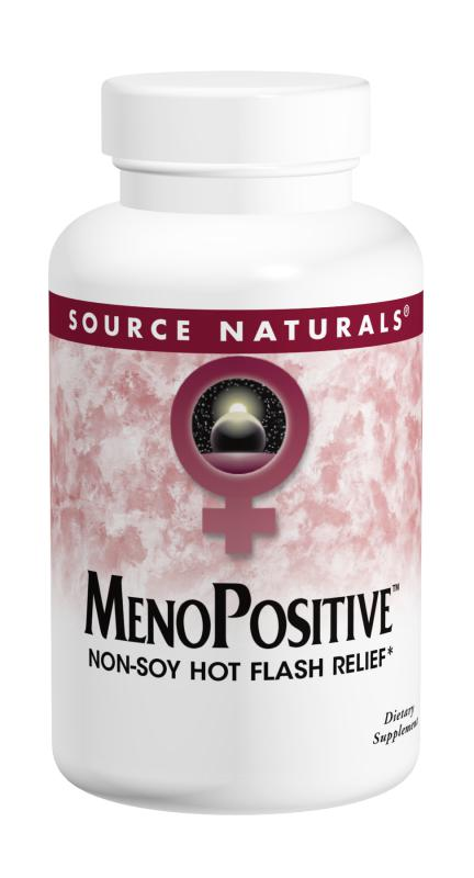 Source Naturals: MenoPositive Soy Free Hot Flash Relief 30 tabs
