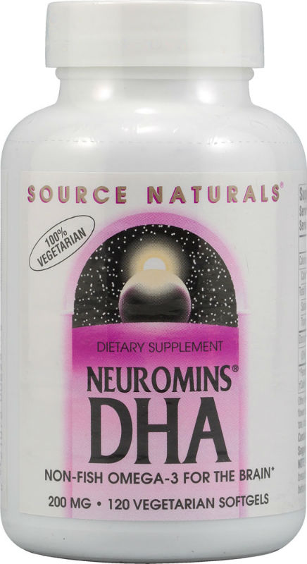 SOURCE NATURALS SHRINK: DHA Neuromins 200mg 60 + 30 Softgel