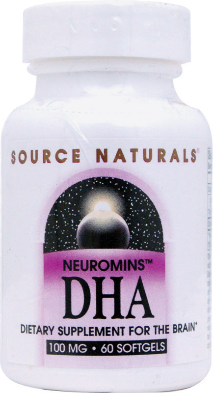 SOURCE NATURALS SHRINK: DHA Neuromins 100mg 60 + 30 Softgel