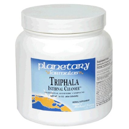 Triphala Internal Cleanser Powder, 16 oz