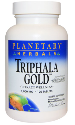Triphala Gold 1000mg 60+60t