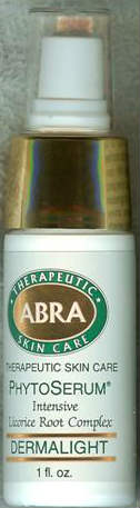 ABRA THERAPEUTICS: Dermalight Licorice Root Complex PhytoSerum Treatment 1 ounce