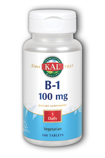 KAL: B 1 100mg 100ct 100mg