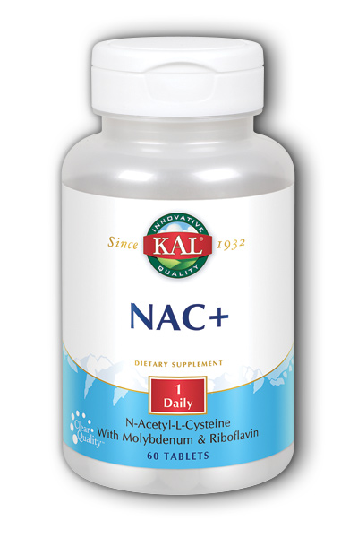 Kal: NACPlus 60ct 600mg
