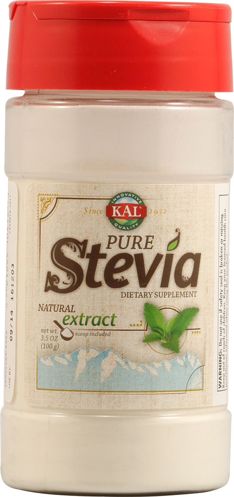 Kal: Pure Stevia Extract Powder 3.5 oz