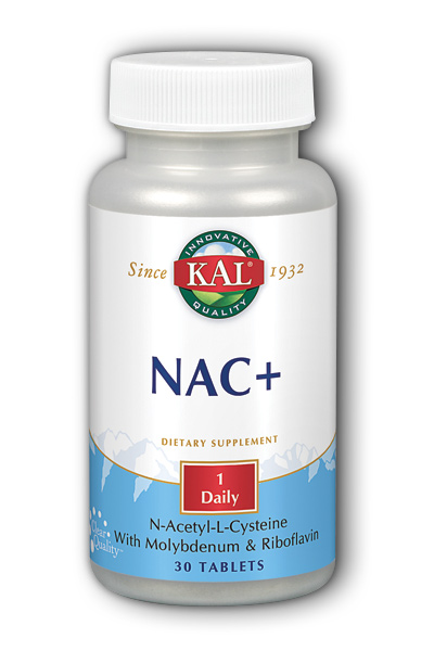Kal: NAC Plus 30ct