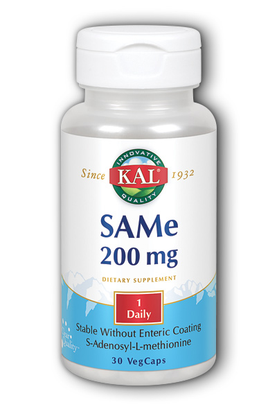 Kal: SAMe 200 mg 30ct 200mg
