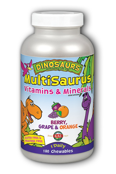 Kal: MultiSaurus 180ct Mixed Flavors