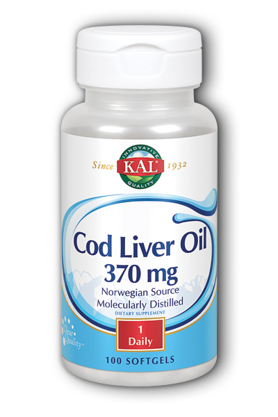 Cod Liver Oil, 100ct  Softgel