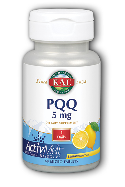 PQQ ActivMelt 60 ct 5 mg from Kal